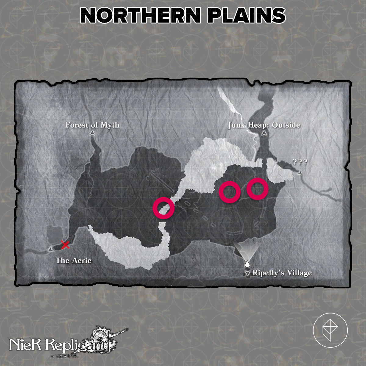 Nier Replicant guide: Mouse tails and lizard tails locations