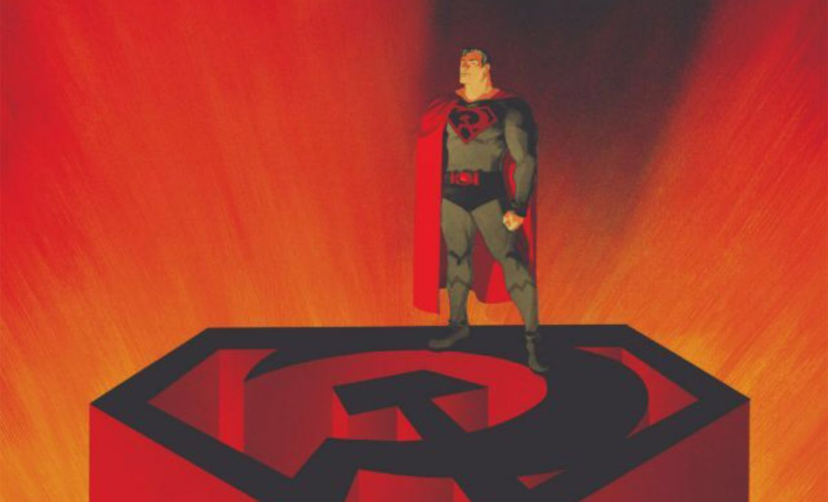 From the cover of Superman: Red Son #1, DC Comics (2003).