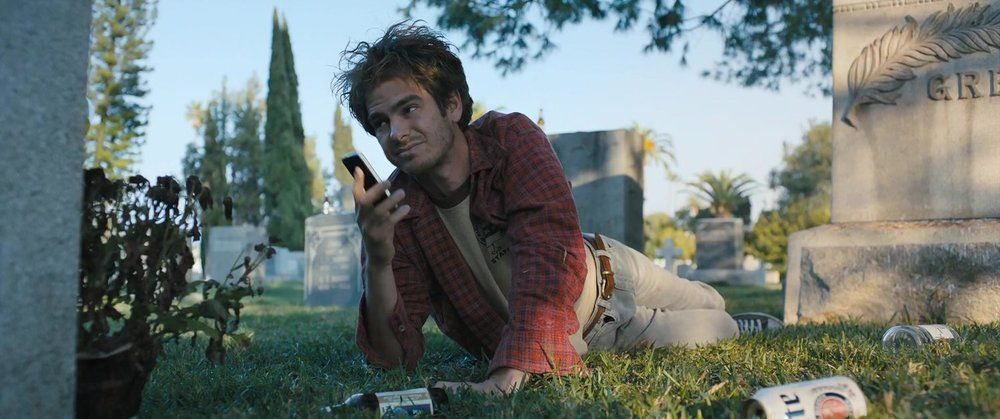 Andrew Garfield as amateur apopheniac sleuth Sam in Under The Silver Lake