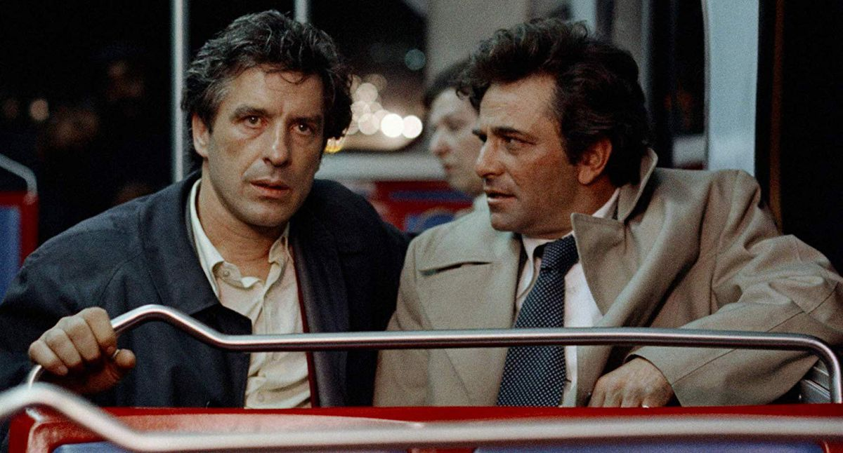 """From left to right, John Cassavetes and Peter Falk in """"Mikey and Nicky."""""""