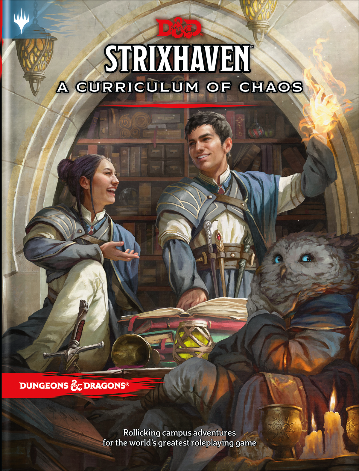The primary cover of Strixhaven: A Curriculum of Chaos