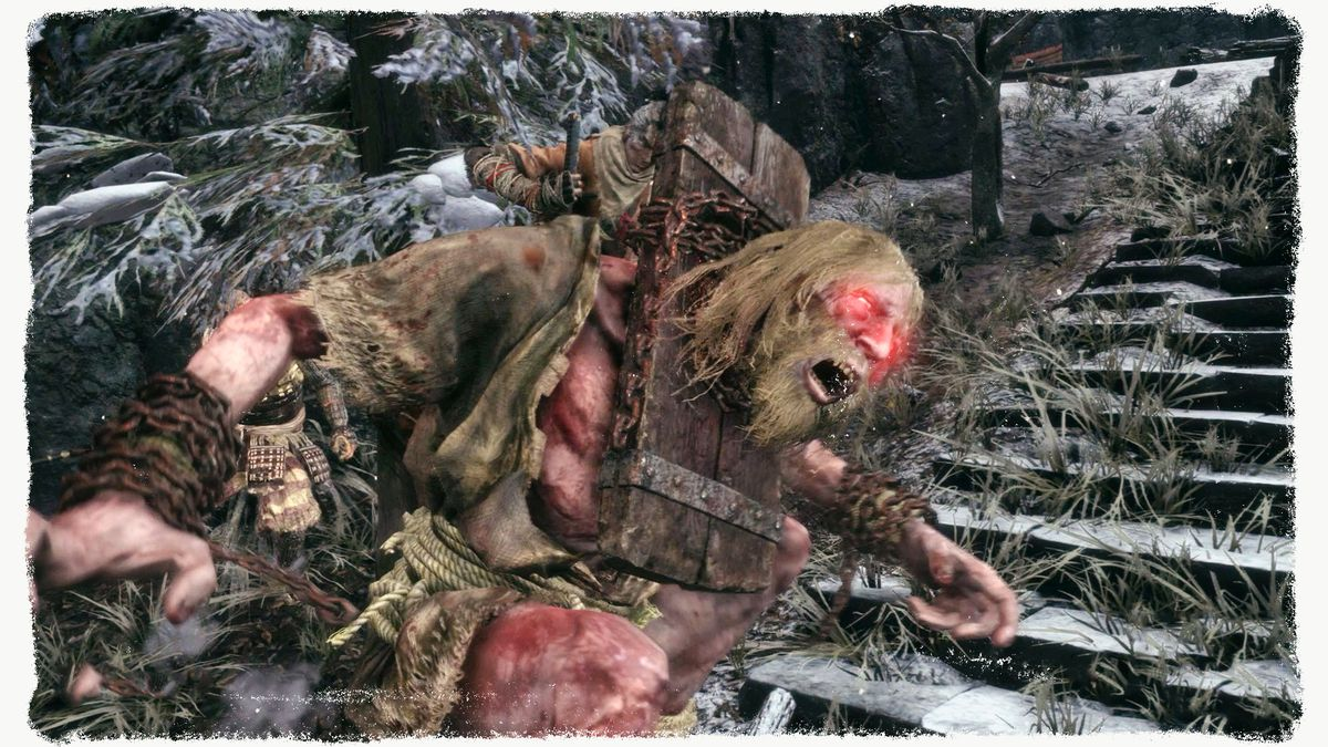 The Chained Ogre from the Sekiro video game