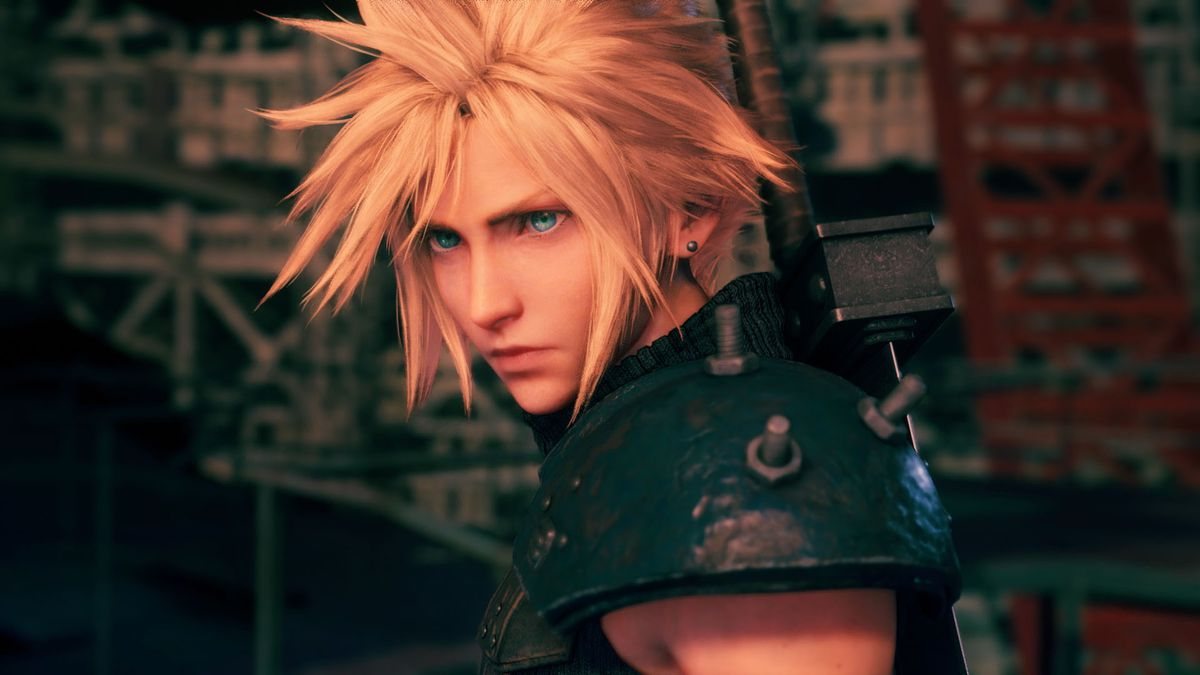 Cloud Strife from Final Fantasy 7 Remake