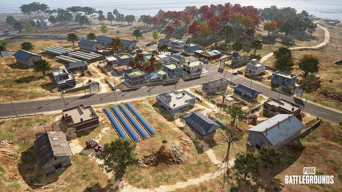 A town in PUBG's Taego map